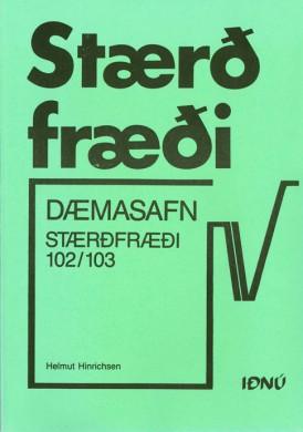 Stærðfræði-102-103---Dæmasafn