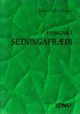 Æfingar-í-setningafræði