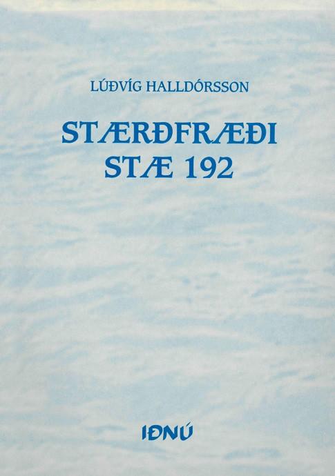 Stærðfræði---STÆ-192
