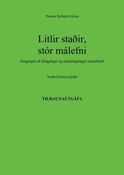 Litlir stadir_stor malefni_VEFKAPA