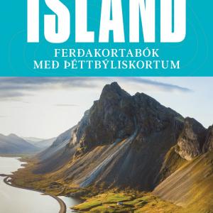Ísland – Ferðakortabók með þéttbýliskortum